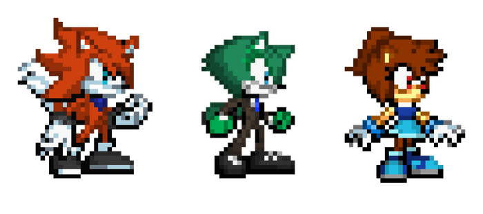 My 3 Unnamed Fan Characters