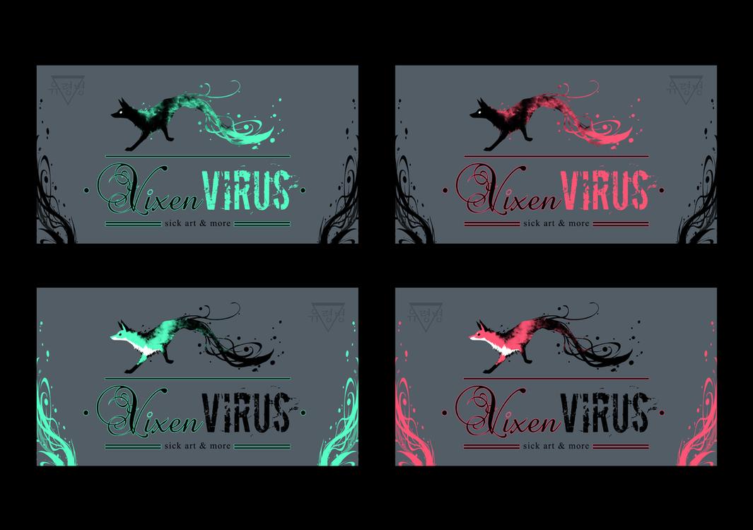 VixenVirus business cards by GeistViRuS on DeviantArt