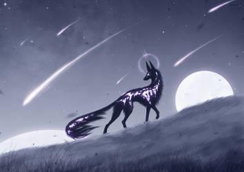 Geminids Meteor Shower by GeistVIRUS