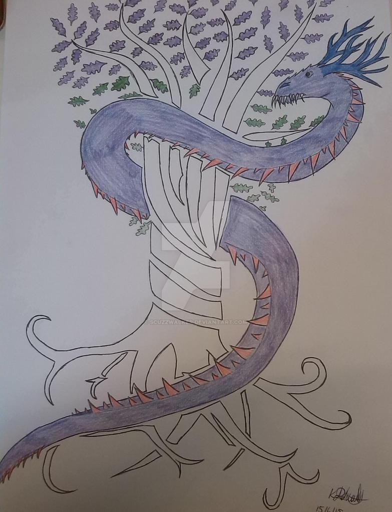 nidhogg dragon norse - 783×1021