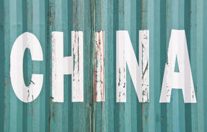 china lettering