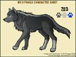Wild Fangs Sheets_Zed