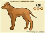 Wild Fangs Sheets_Lor