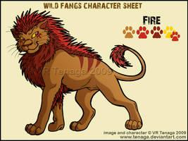 Wild Fangs Sheets_Fire by Tenaga