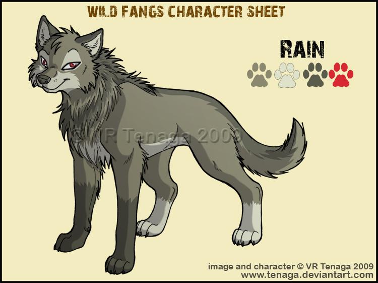 Wild Fangs Sheets_Rain by Tenaga