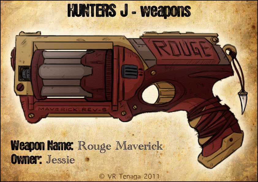 Hunters J Weapons: Jessie by Tenaga