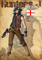 Hunters J - Characters: Jaded by Tenaga