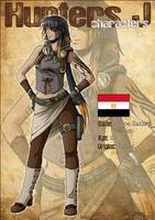 Hunters J - Characters: Chloe by Tenaga