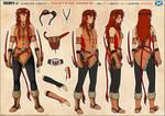 Tenaga Kane Sheridan - Final Outfit