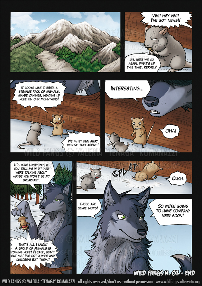 Wild Fangs_121 - END OF ISSUE 03 - by Tenaga