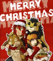 Merry Christmas from Tenaga Comics! by Tenaga