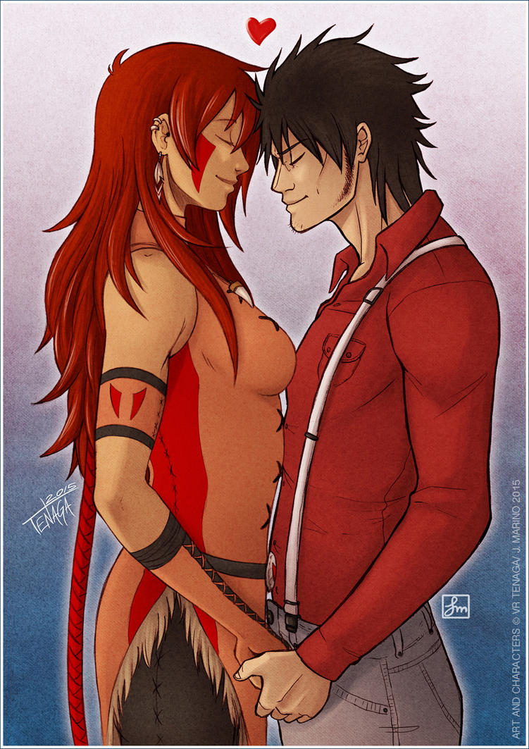 Red Valentine by Tenaga