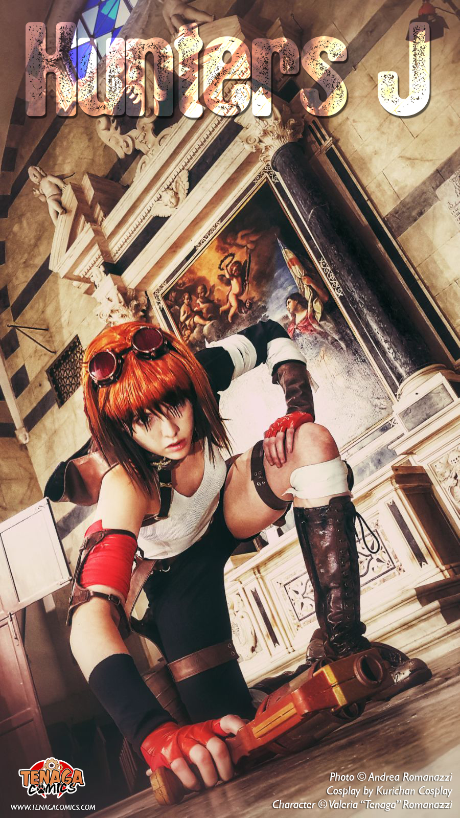 Jessie Cosplay - Lucca Comics and Games 2017 by Tenaga