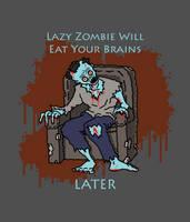 Lazy Zombie by Vorgus