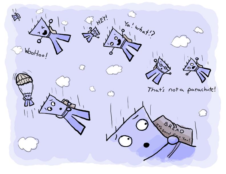 TDcomics - Parachute by Vorgus