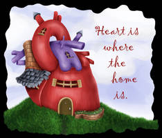 Heart is Where the Home is 2 by Vorgus