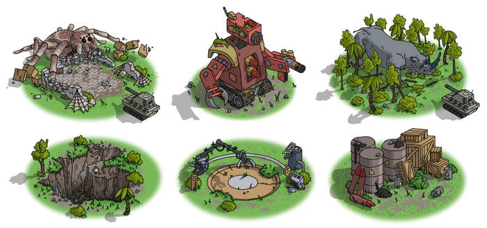 Superbia's Tank - Events