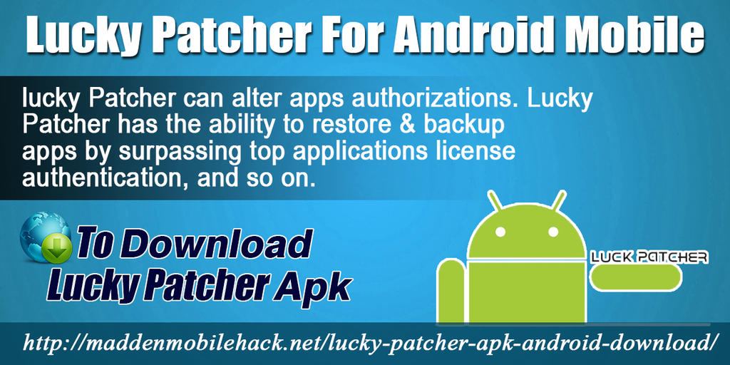 Lucky Patcher For Android Mobile by louisehpereyra on DeviantArt
