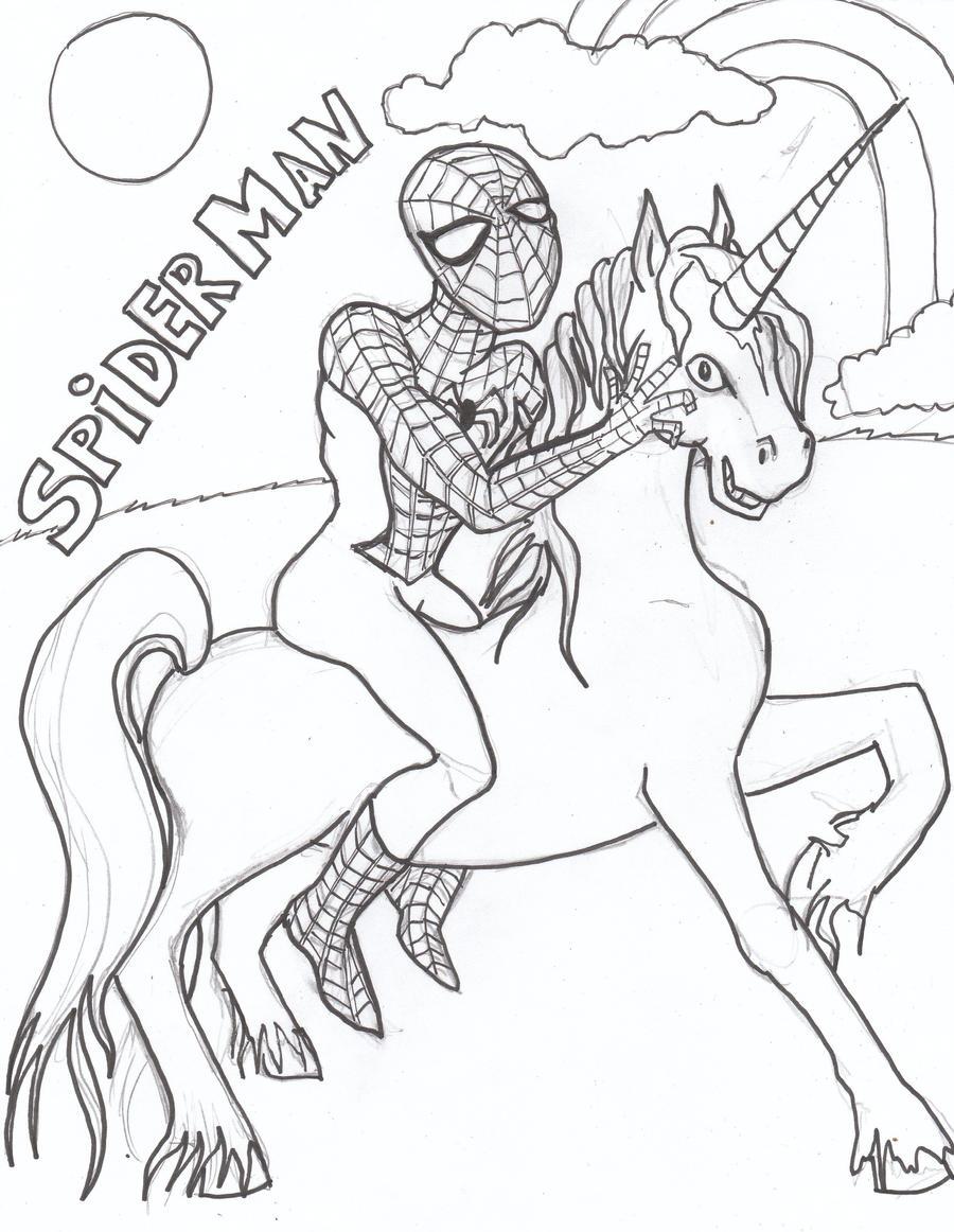 Spiderman coloring sheets free - My Spiderman Coloring Page By Usedfreak88 My Spiderman Coloring Page By Usedfreak88