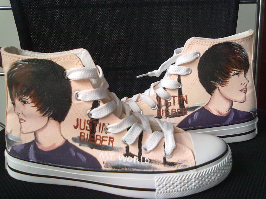Justin Bieber Shoes By Elleflynn On Deviantart
