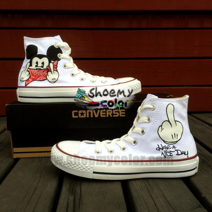 5b953f44ddb mickey mouse converse shoes