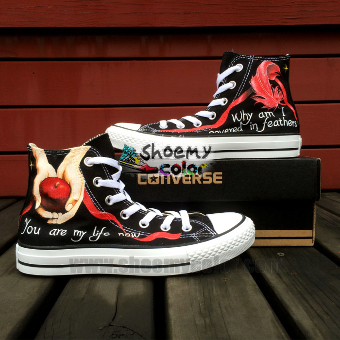 Christmas Pure Hand Painted Shoes Art by elleflynn