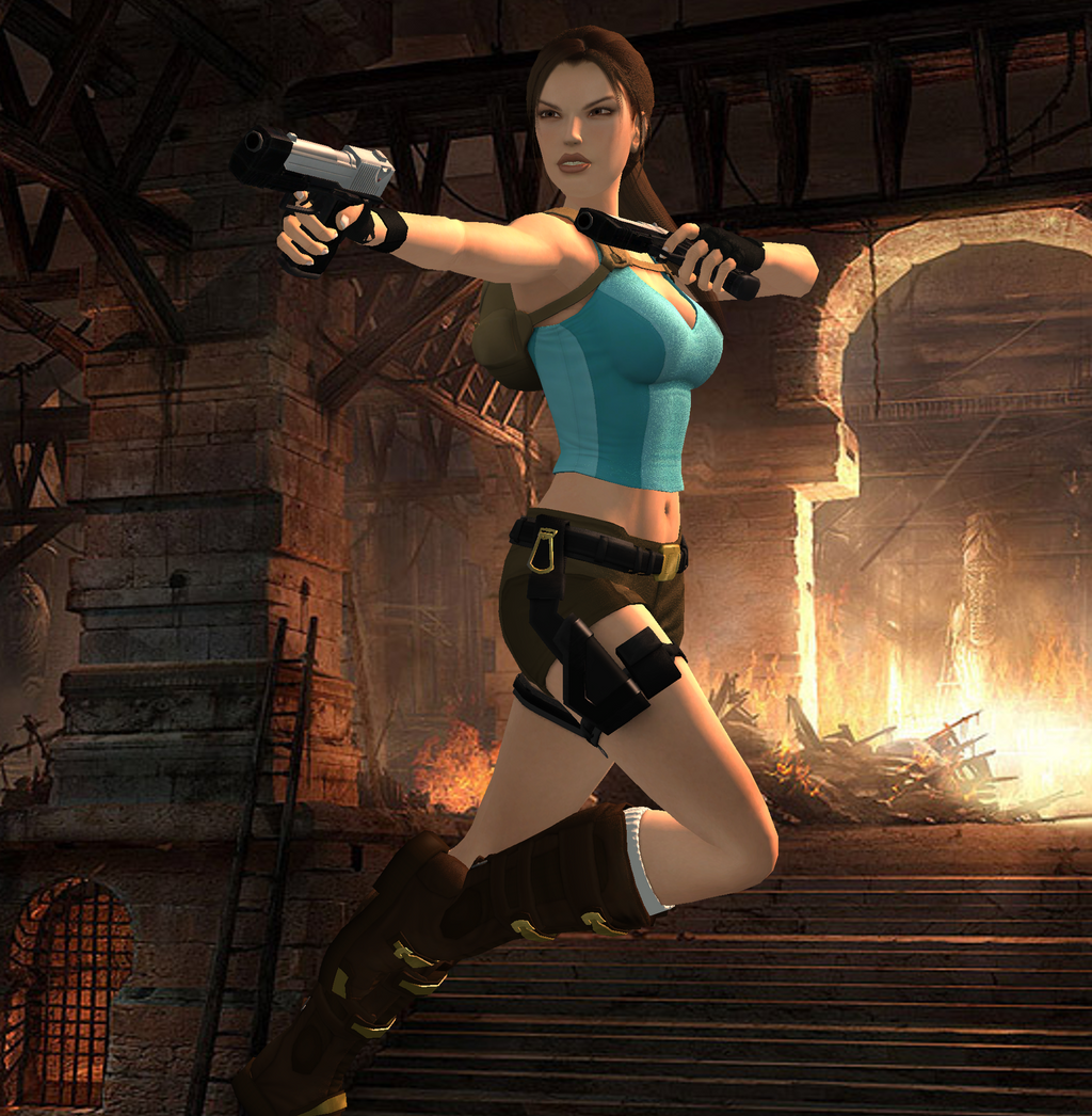 Tomb Rider Wallpaper: Lara Croft Tomb Raider Classic By Spuros12