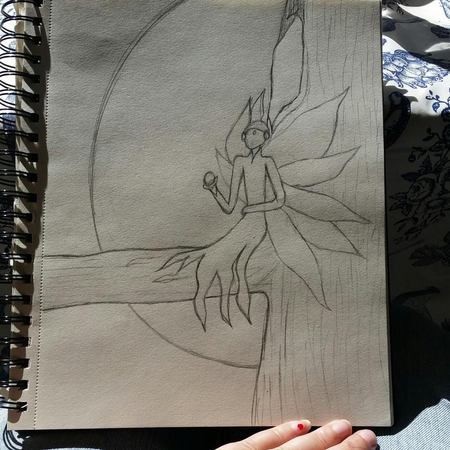 Night Fairy 2 by Adraya