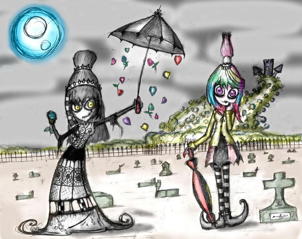 Rain of a midnight love by Bioteknos