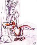Joe, the gorgonopsid