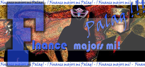 Finance majors banner by earlkyo