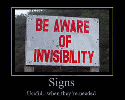 Signs by InvoluntaryGraphix