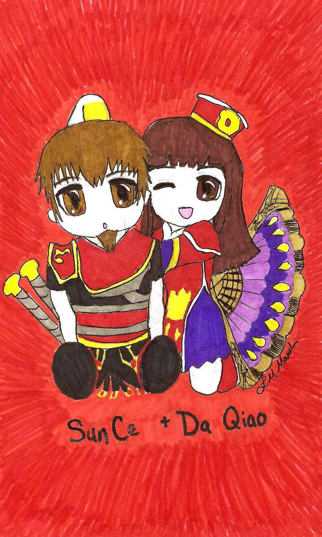 Da qiao and sun ce