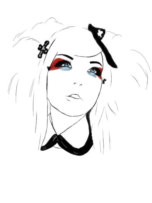 Miss X by Coffin-Rabbit