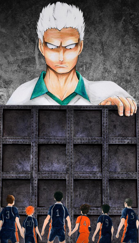Karasuno vs. The Iron Wall by Coffin-Rabbit