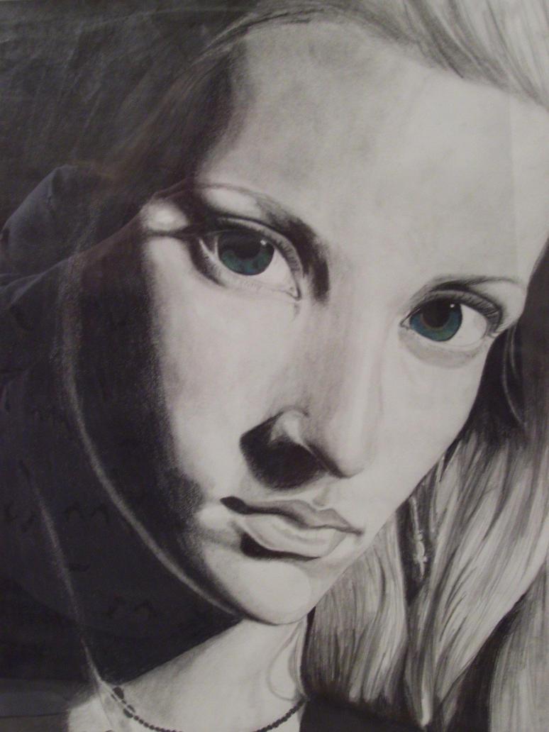 Self Portrait 1 by DarkOceanDream