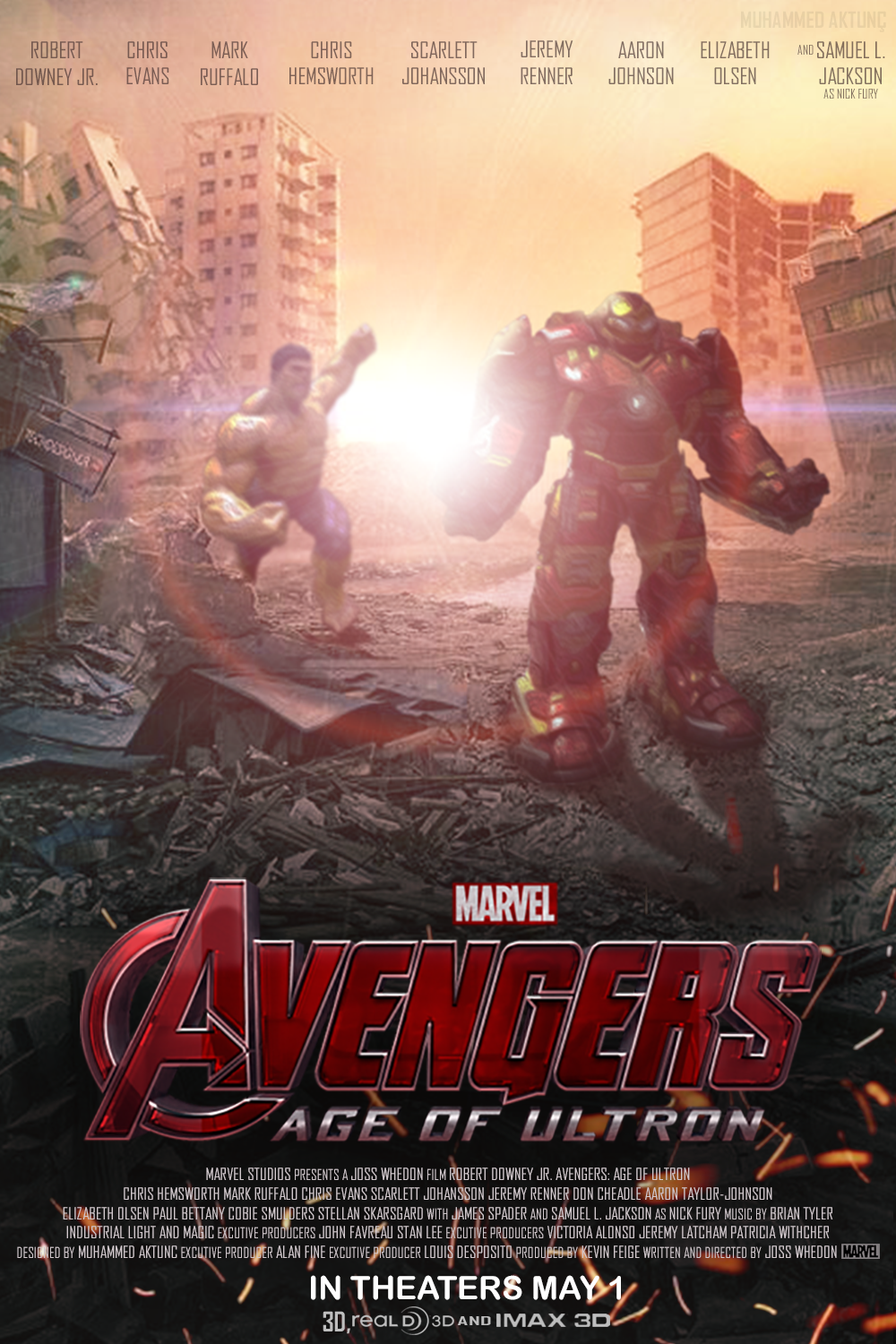 MARVEL's Avengers: Age of Ultron - Fan Made Poster by ...