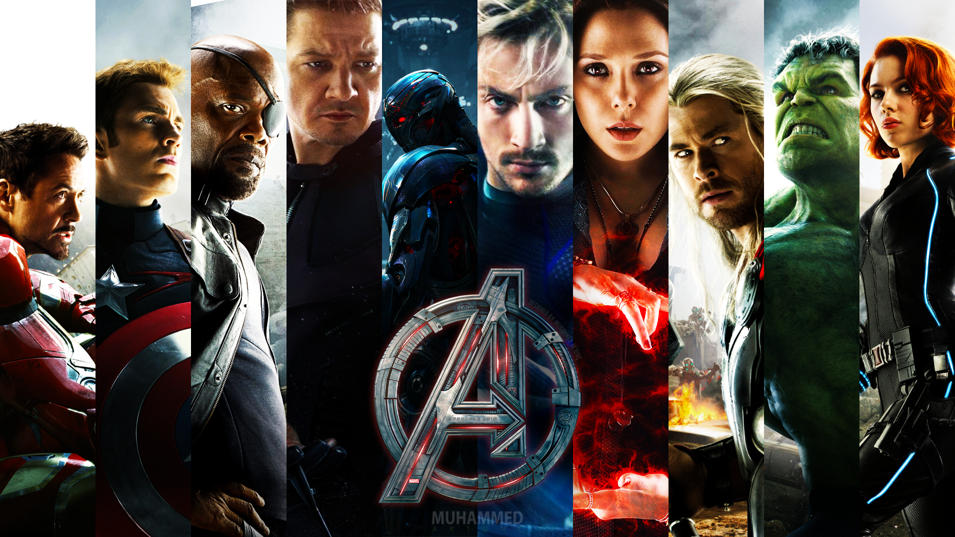 Marvel S Avengers Age Of Ultron Hd Wallpaper By