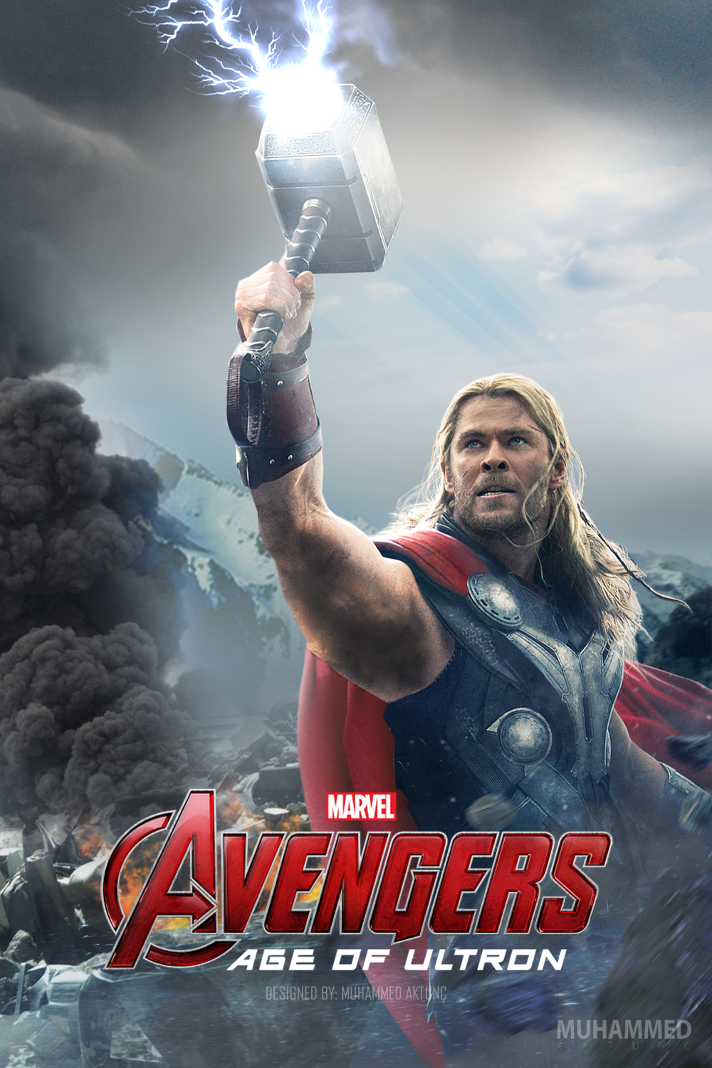 MARVEL's Avengers: Age of Ultron - Thor Poster by ...