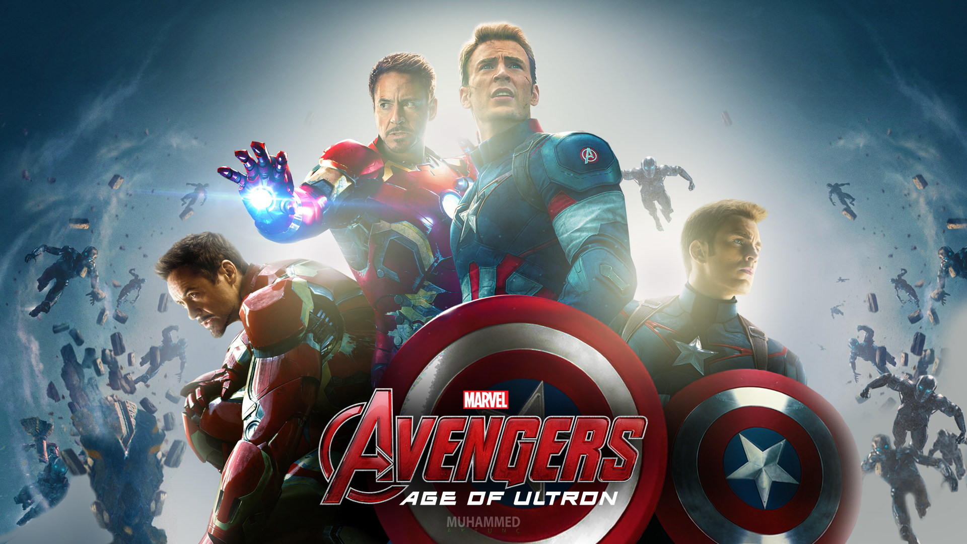 Marvels Avengers Age Of Ultron Hd Wallpaper By