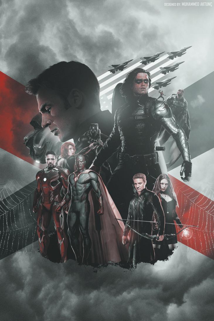 Simple Wallpaper Movie Captain America Civil War - captain_america__civil_war___mobile_wallpaper_by_muhammedaktunc-d9tw5yb  Photograph_798663.png