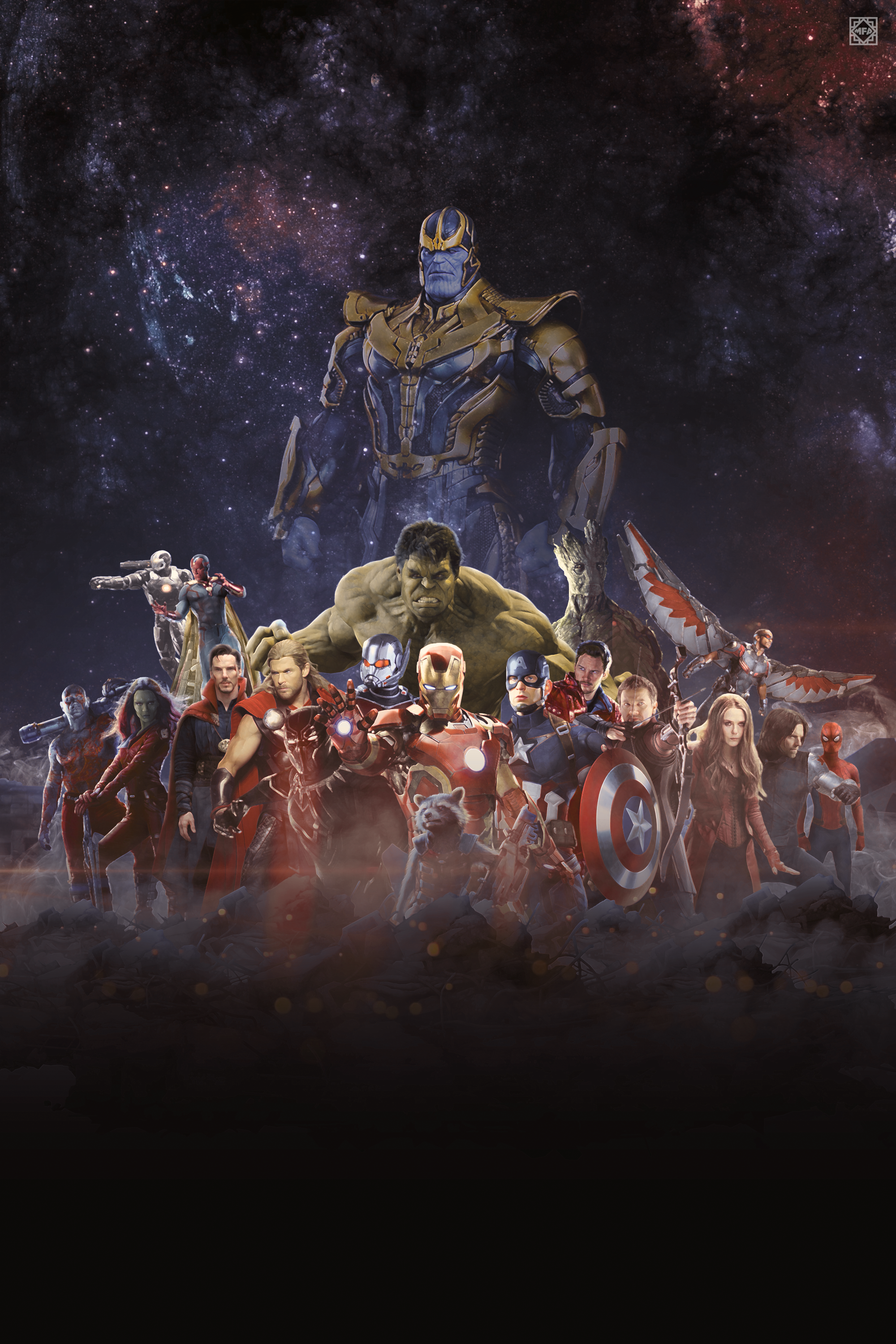 The Avengers: Infinity War Wallpaper by