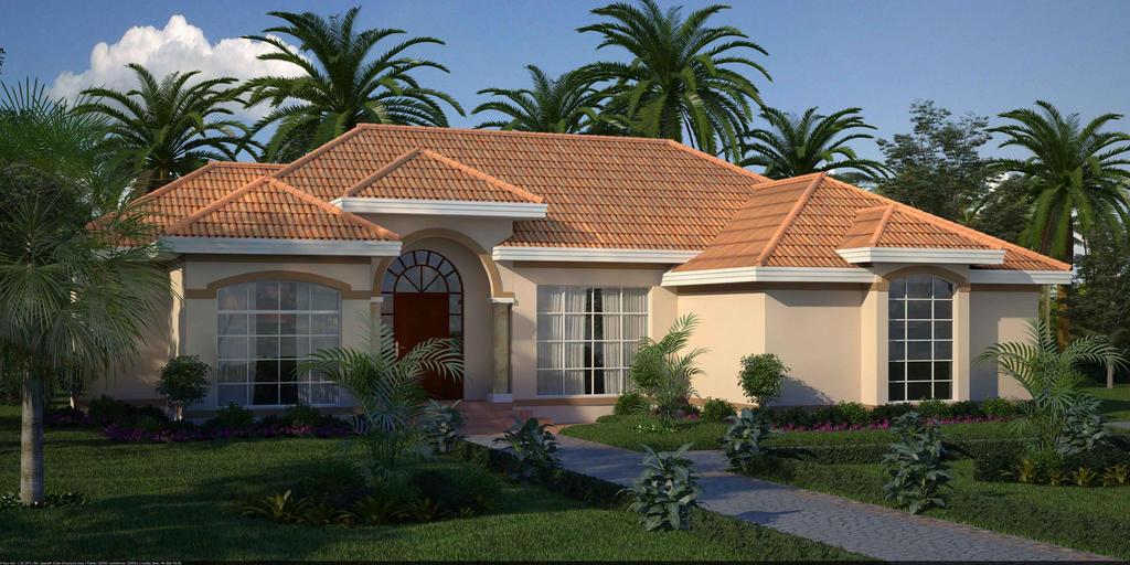 Mediterranean style house by archdigital on deviantart for Mediterranean style modular homes
