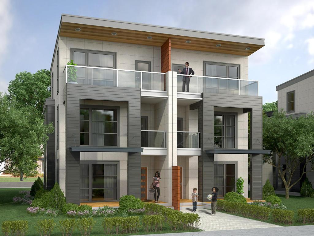 Duplex unit by archdigital on deviantart for Duplex units