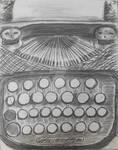 ABC Murders - Typewriter by Shinobi-Of-Ookami