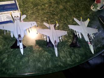 Super Hornet squadron 2 by Prowlus
