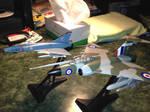 Gloster Javelin and mirage III
