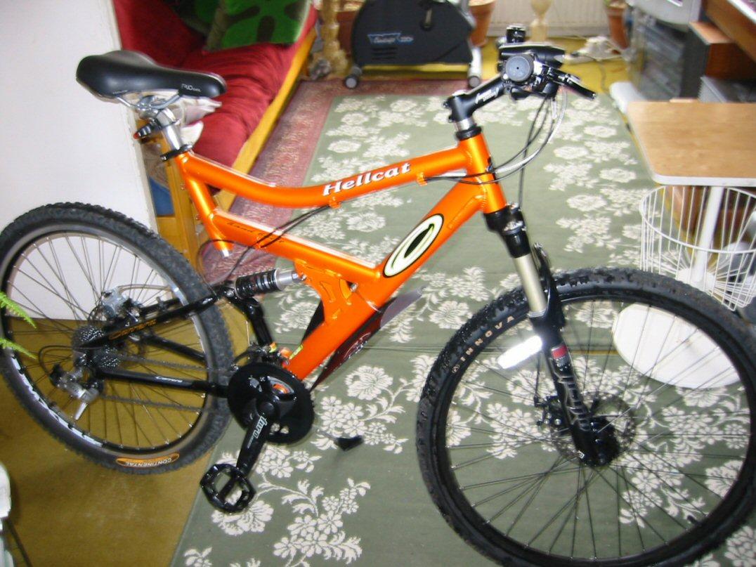 bike after the rifit