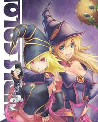 Gagaga girl and Dark magician girl by Black924