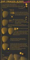 Tutorial Easy Dragon Scales by Annasch